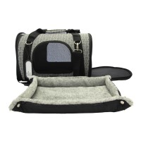 hunde flugtasche f r die flugkabine schwarz bis 12 kg. Black Bedroom Furniture Sets. Home Design Ideas