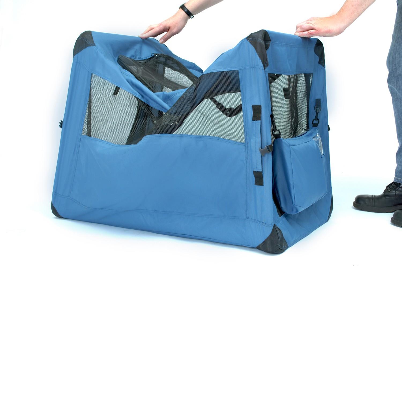 hundetransportbox hundebox deluxe soft crate generation ii. Black Bedroom Furniture Sets. Home Design Ideas