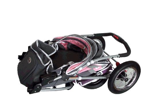 innopet buggy comfort luftreifen hundebuggy grau. Black Bedroom Furniture Sets. Home Design Ideas