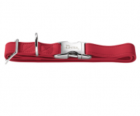 Hunter Halsung Softie Alu-Strong Rot S-L - Hundehalsband