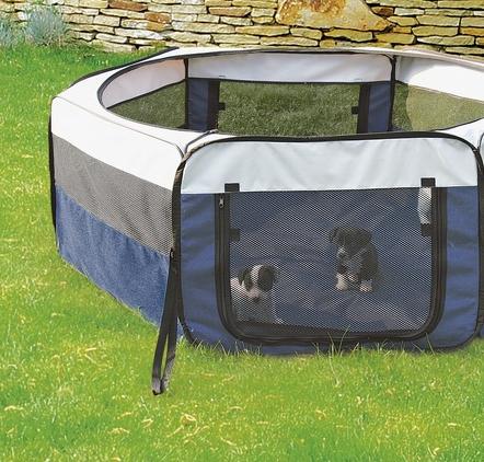 welpenfreilauf hunde freigehege faltbare hundebox f r welpen hundeshop hundebox kennel. Black Bedroom Furniture Sets. Home Design Ideas