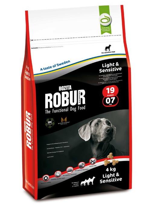 bozita robur light sensitive hundefutter trocken f r. Black Bedroom Furniture Sets. Home Design Ideas