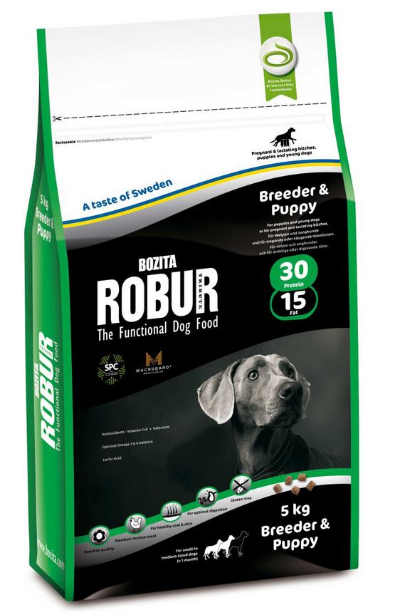 bozita robur breeder puppy hundefutter trocken f r. Black Bedroom Furniture Sets. Home Design Ideas