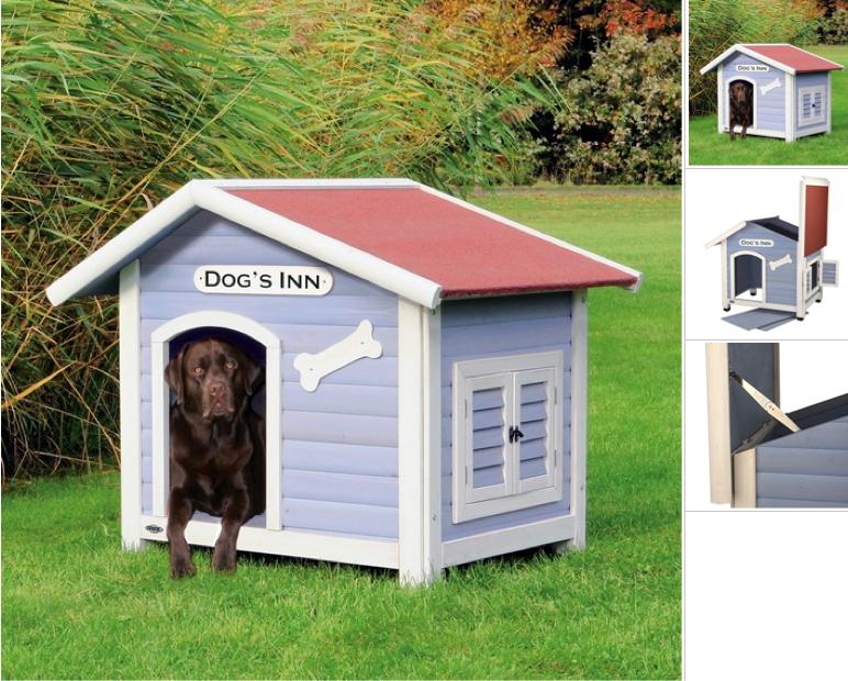 landhausstil maritim hundeh tte mit satteldach hundeh tte hundeshop hundeshop. Black Bedroom Furniture Sets. Home Design Ideas