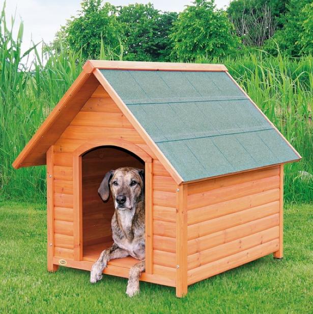 hundeh tte mit satteldach hundeh tte massiv holz mit satteldach hundeshop. Black Bedroom Furniture Sets. Home Design Ideas