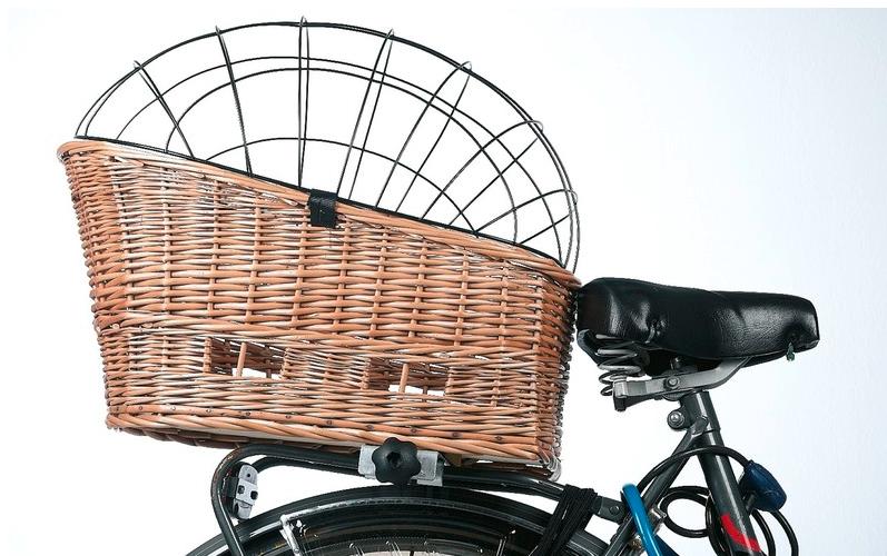hunde fahrradkorb vollweide mit klammer hundeshop auto reise transport fahrrad motorrad zubeh r. Black Bedroom Furniture Sets. Home Design Ideas