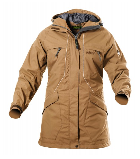 owney tuvaq parka damen outdoor jacke beige outdoorshop outdoor jacken. Black Bedroom Furniture Sets. Home Design Ideas