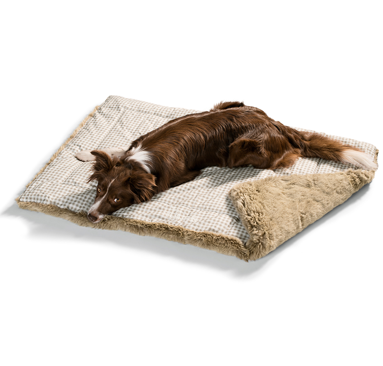 hunter hundedecke astana beige braun hundeshop hundebetten decken hundekissen decken. Black Bedroom Furniture Sets. Home Design Ideas