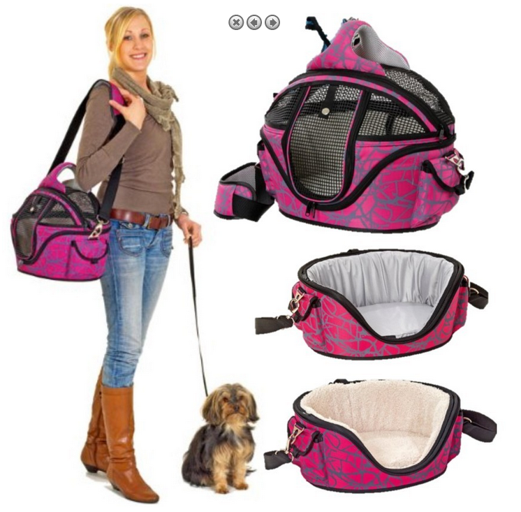 hunde flugtasche tragetasche pink bis 12 kg. Black Bedroom Furniture Sets. Home Design Ideas