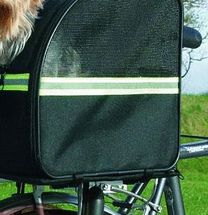 Biker bag fahrradkorb tasche bis 8 kg hundekorb hundeshop auto reise transport fahrrad - Fahrrad hundekorb ...